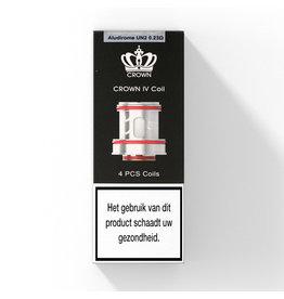 Uwell Crown IV Mesh Coils - 0.23Ω - 4pcs