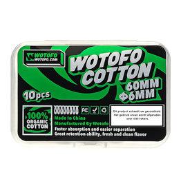 Wotofo Profile RDA Agleted - Bio-Baumwolle (6mm) - 10St