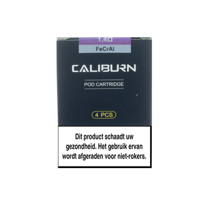 Uwell Caliburn Pod 1.4Ohm - 4Pcs