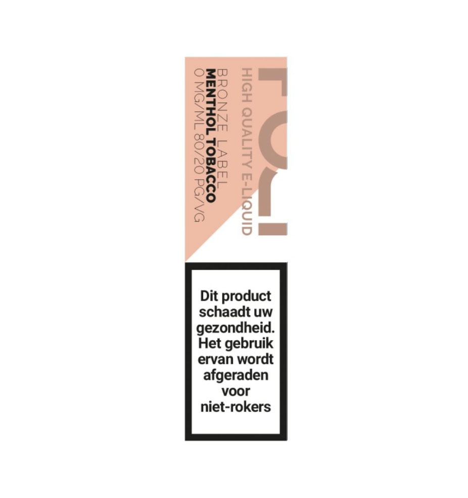 Fuci Bronze Label - Menthol Tobacco