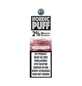 Nordic Puff Nic Salts - Bubblegum