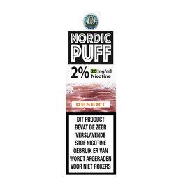 Nordic Puff Nic Salts - Desert