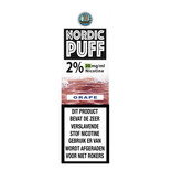 Nordic Puff Nic Salts - Traube