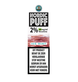 Nordic Puff Nic Salts - Ice Mint