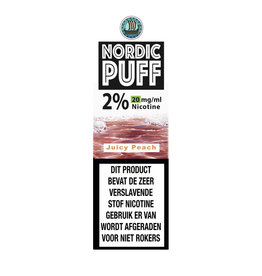 Nordic Puff Nic Salts - Juicy Peach