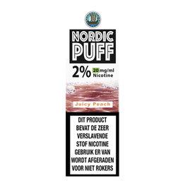 Nordic Puff Nic Salts - Saftiger Pfirsich