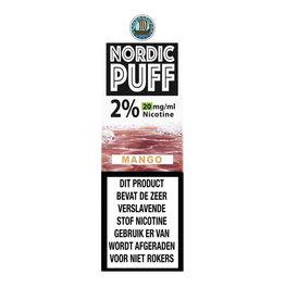 Nordic Puff Nic Salts - Mango