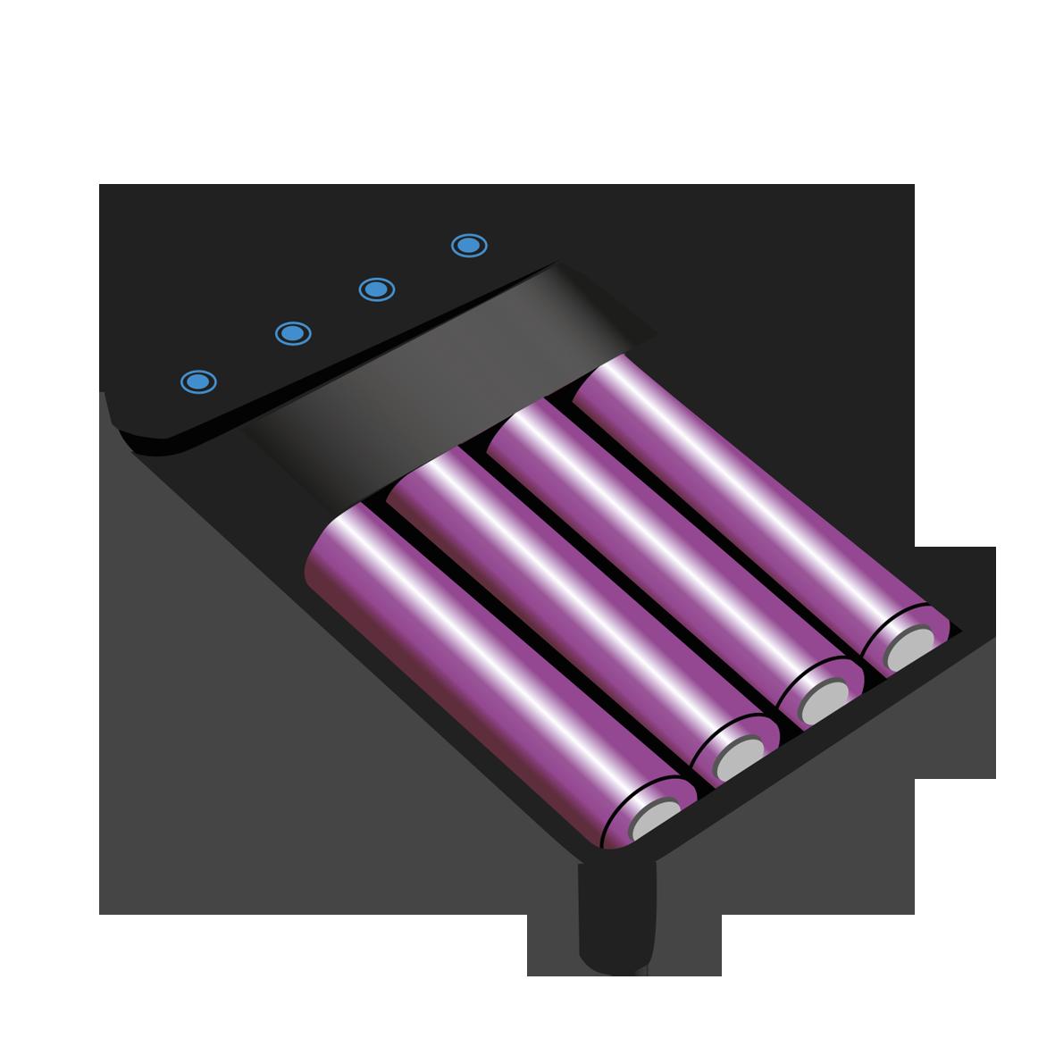 Batterijen/ Opladers