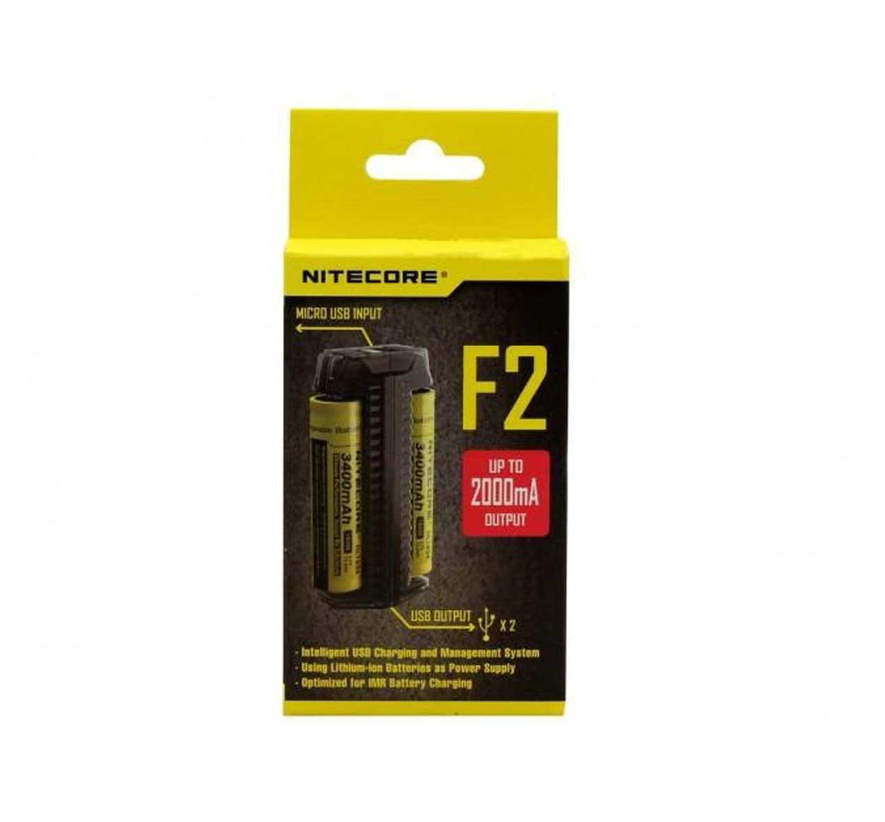 Nitecore F2 charger
