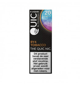 Quic - RY4 Tabak - 20mg Nic Salz