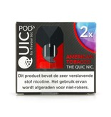 "Quic Pods - American Tobacco ""20mg nic Salt"""