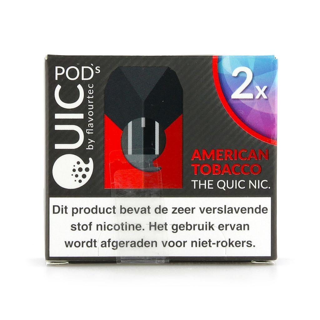 Quic Pods - Amerikanischer Tabak