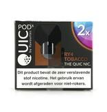 "Quic Pods - RY4 Tobacco ""20mg nic Salt"""