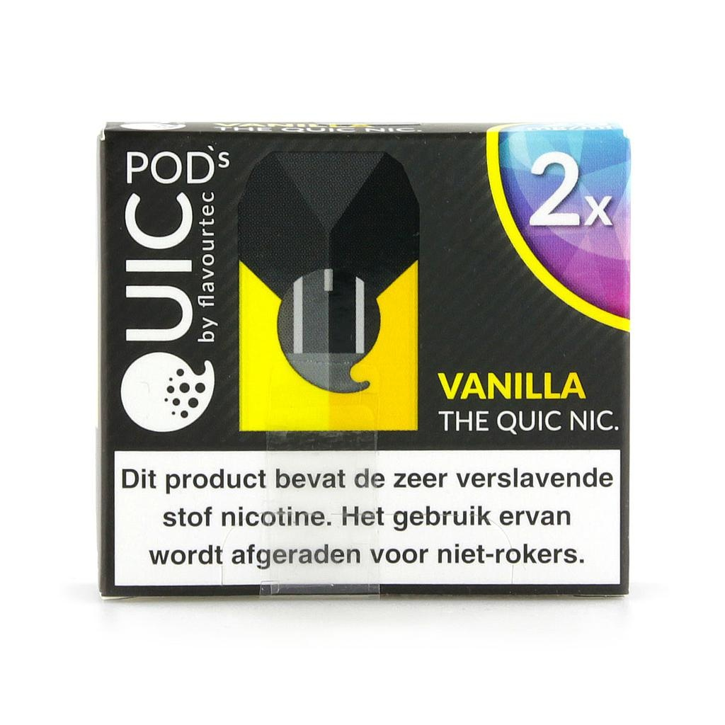 "Quic Pods - Vanilla ""20mg nic Salt"""