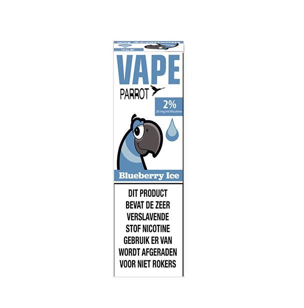 Parrot Vape - Blueberry ice (Nic Salt) - 2%