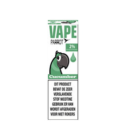 Parrot Vape - Cucumber (Nic Salt) - 2%