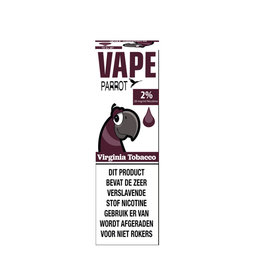 Papagei Vape - Virginia Tabak (Nic Salt) - 2%