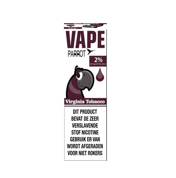 Papagei Vape - Virginia Tabak (Nic Salt) - 2%