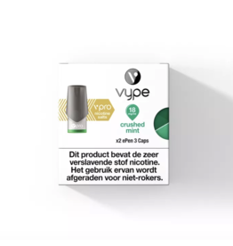 Vype - vPRO ePen 3 Pod - Crushed Mint - 2 Pcs