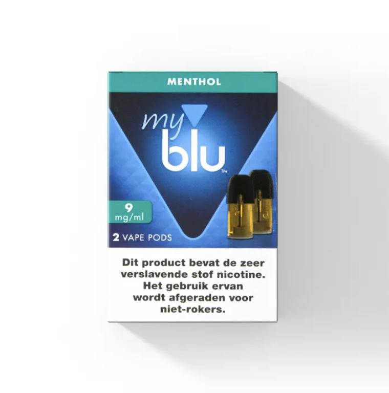 Blu POD - Menthol - 2 Pcs