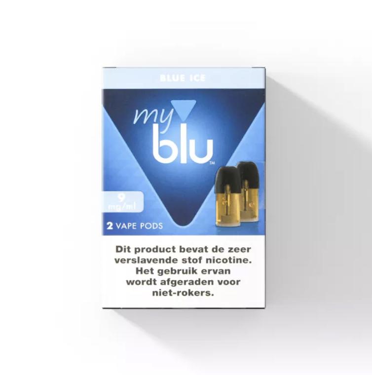 Blu POD - Blue Ice - 2 Stück