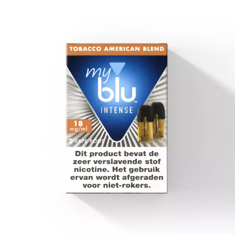 Blu Intense POD - Tabak Amerikanische Mischung - 2 Stk