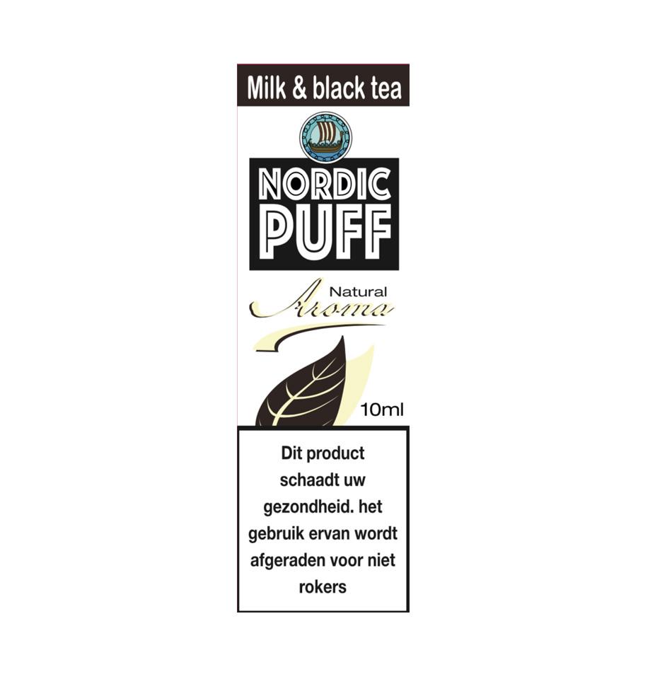 Nordic Puff Aroma - Milk and black tea