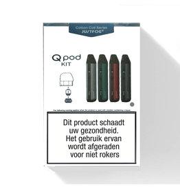 JUSTFOG Qpod Pod Kit - 900mAh