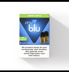 Blu POD - Green Apple - 2 Pcs