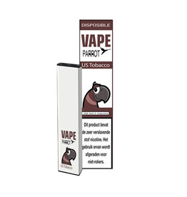 Parrot Vape Disposable - US Tobacco - 380Puff