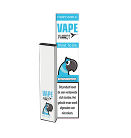 Papagei Vape Einweg - Mint to Be - 380Puff