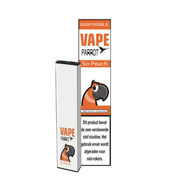 Parrot Vape Disposable - So Peach - 380Puff