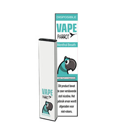 Parrot Vape Disposable - Menthol Breath - 380Puff