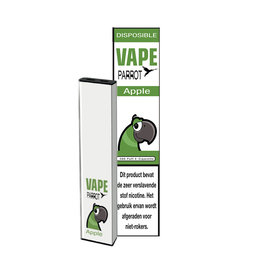 Parrot Vape Disposable - Sour Apple - 380Puff