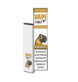 Papagei Vape Einweg - Klassischer Tabak - 380Puff