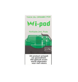 Wi-Cbd Oil Ceramic Pods - 2 Pcs