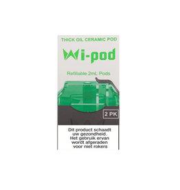 Wi-Cbd Oil Ceramic Pods - 2 Stück