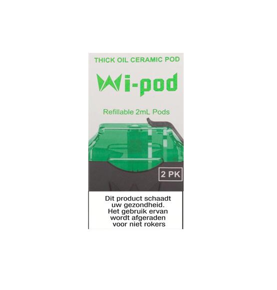 Wi-Cbd Oil Ceramic Pods - 2 Pcs