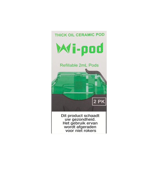 Wi-Cbd Oil Keramisch Pods  - 2Pcs