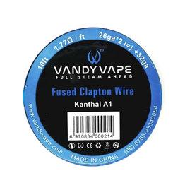 Vandy Vape - KA1 Fused ClaptonWire KA1 / 26ga * 2 (=) + 32ga 10ft