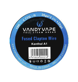 Vandy Vape - KA1 Fused ClaptonWire KA1/26ga*2(=)+32ga 10ft