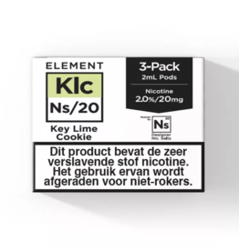 Element Pod– Key Lime Cookie - 3Pcs