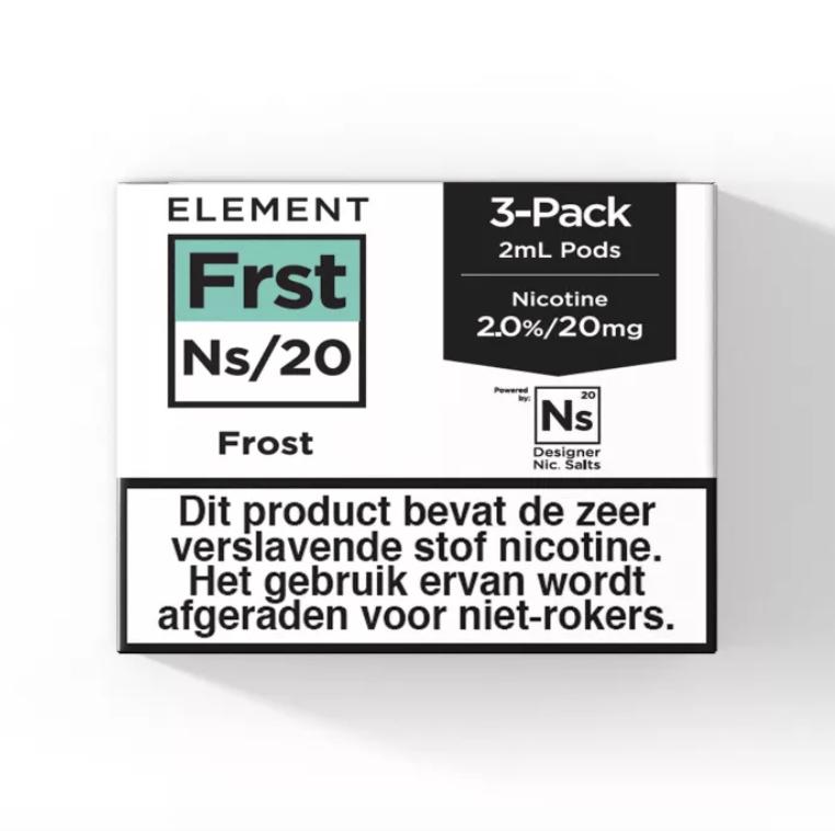 Element Pod – Frost – 3Pcs