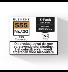 Element Pod – 555 Tobacco – 3Pcs