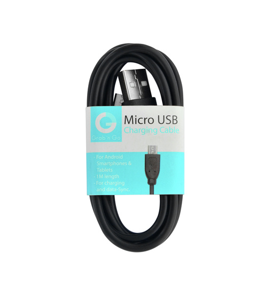 Grab n Go - Micro USB Data Cable