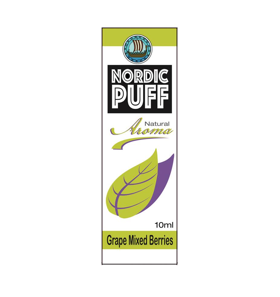Nordic Puff Aroma - Grape Mixed Berries
