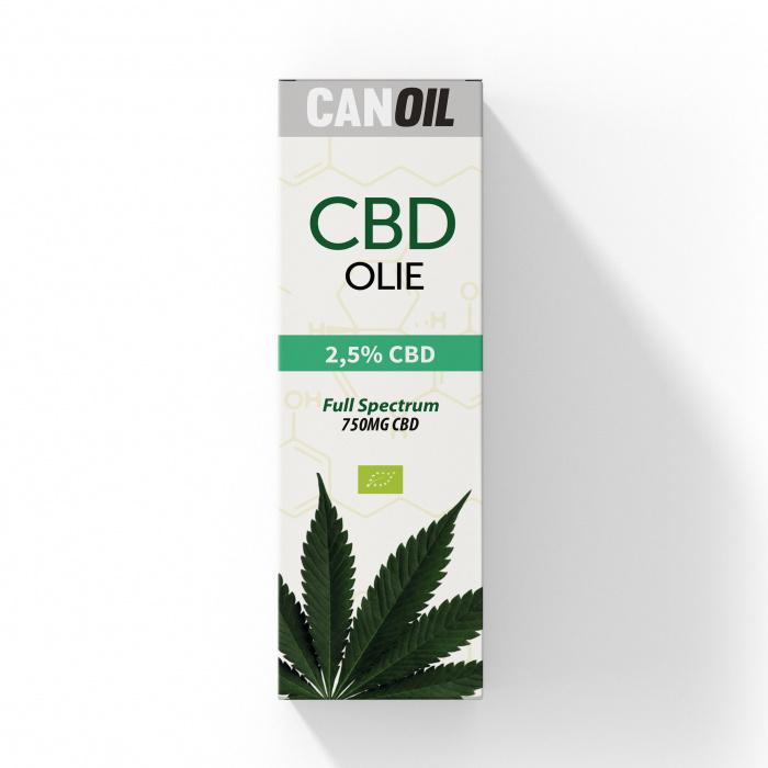 CanOil - CBD Oil 2.5% - 30ML