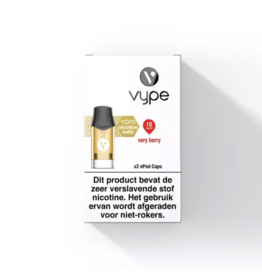 Vype vPro ePod POD - Very Berry - 2 Pcs