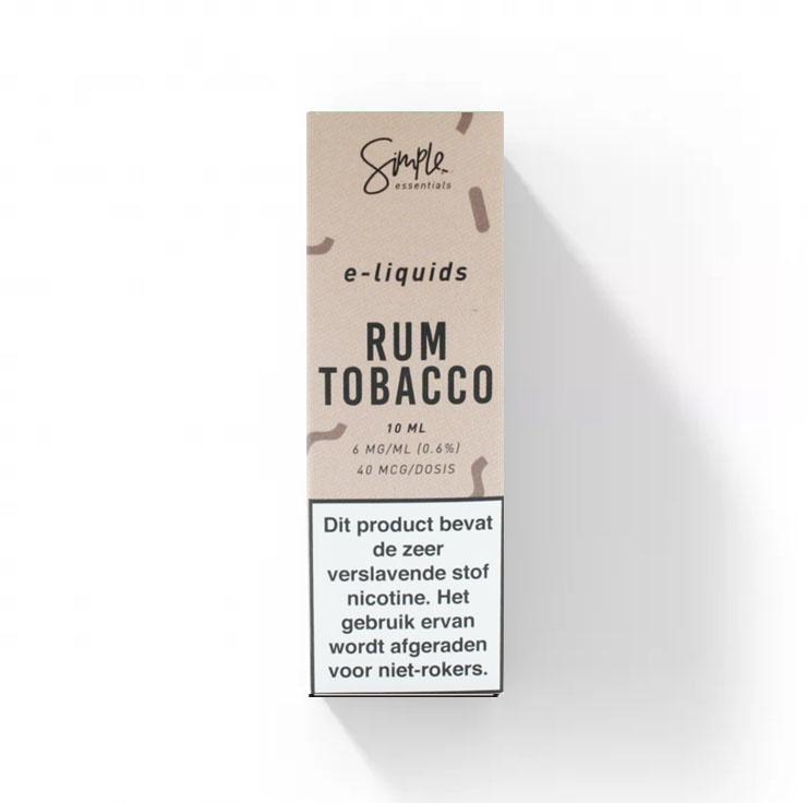 Simple Essentials - Rum Tabak