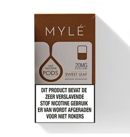 Mylé pod - Sweet Tobacco - 4 Pcs